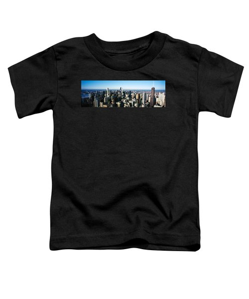 Skyscrapers In A City, Hancock Toddler T-Shirt by Panoramic Images