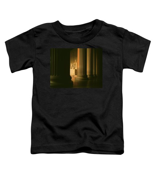 The Lincoln Memorial In The Morning Toddler T-Shirt by Panoramic Images