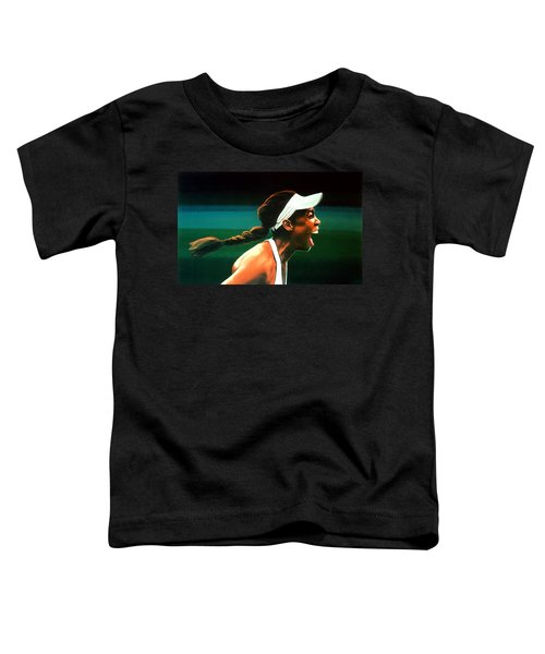 Venus Williams Toddler T-Shirt by Paul Meijering