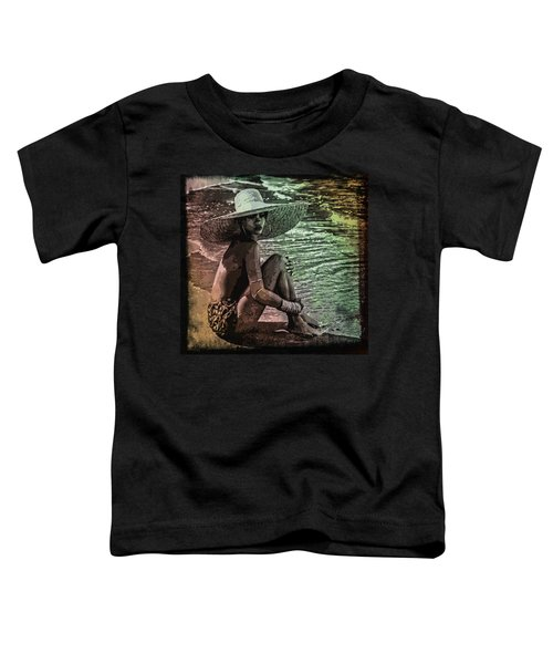 Rihanna Toddler T-Shirt by Svelby Art