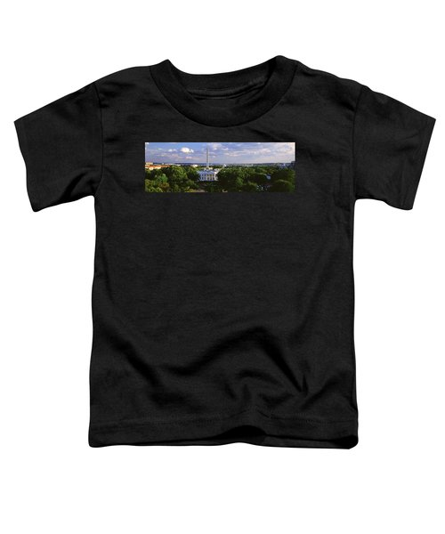 Aerial, White House, Washington Dc Toddler T-Shirt by Panoramic Images
