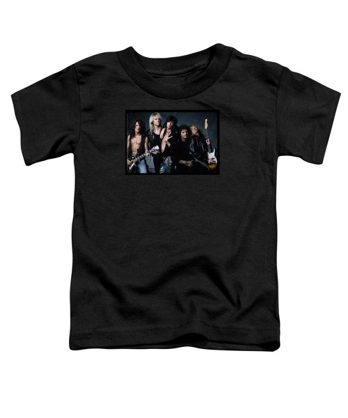 Aerosmith - Let The Music Do The Talking 1980s Toddler T-Shirt by Epic Rights