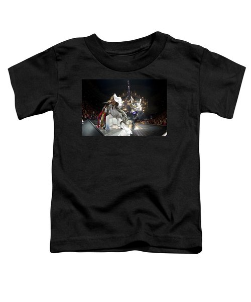 Aerosmith - On Stage 2012 Toddler T-Shirt by Epic Rights