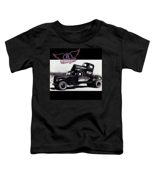 Aerosmith - Pump 1989 Toddler T-Shirt by Epic Rights