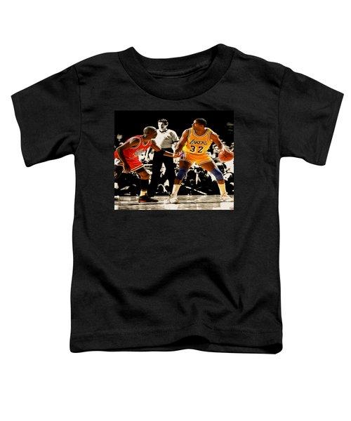 Air Jordan On Magic Toddler T-Shirt by Brian Reaves