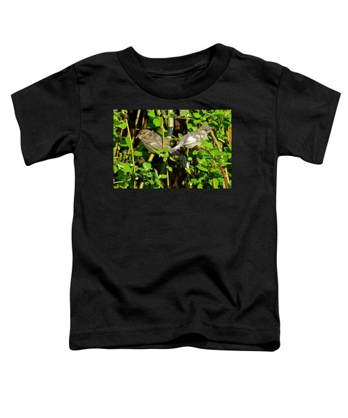 Babies Afraid To Fly Toddler T-Shirt by Frozen in Time Fine Art Photography