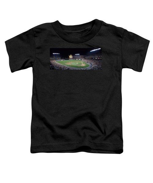 Baseball Game Camden Yards Baltimore Md Toddler T-Shirt by Panoramic Images