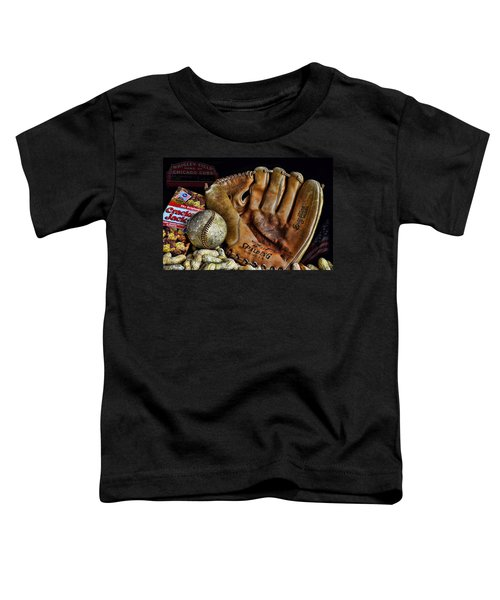 Buy Me Some Peanuts And Cracker Jacks Toddler T-Shirt by Ken Smith