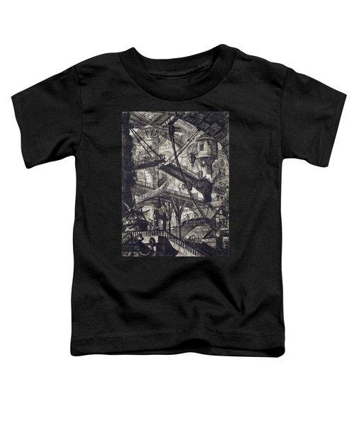 Carceri Vii Toddler T-Shirt by Giovanni Battista Piranesi