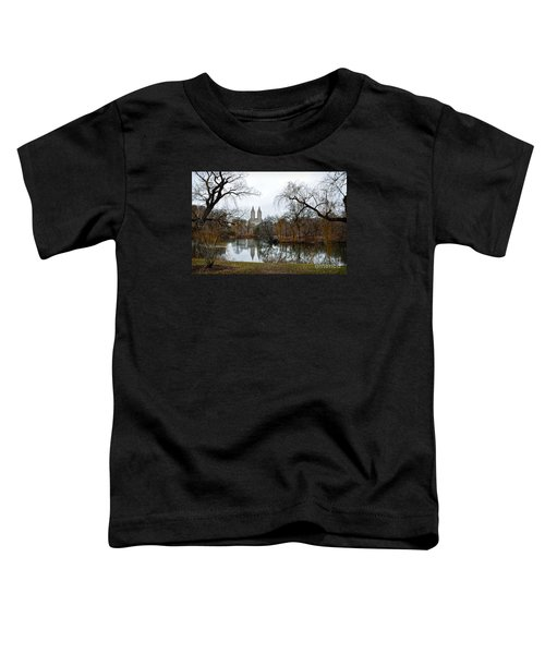 Central Park And San Remo Building In The Background Toddler T-Shirt by RicardMN Photography