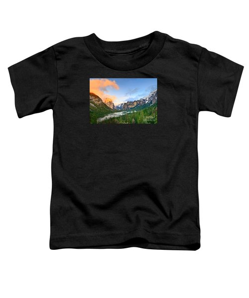 Colors Of Yosemite Toddler T-Shirt by Jamie Pham