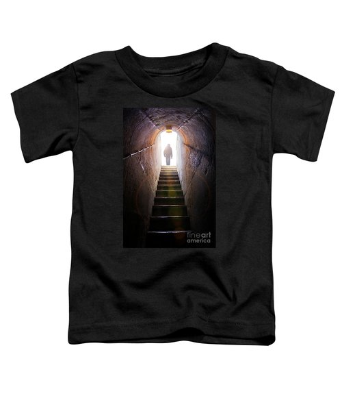 Dungeon Exit Toddler T-Shirt by Carlos Caetano