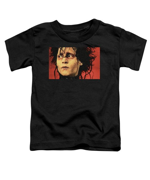 Edward Scissorhands Toddler T-Shirt by Taylan Soyturk