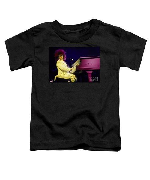 Elton Toddler T-Shirt by David Plastik