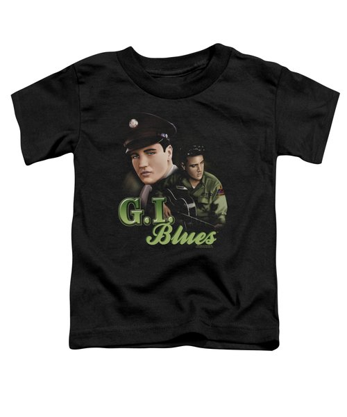 Elvis - G I Blues Toddler T-Shirt by Brand A