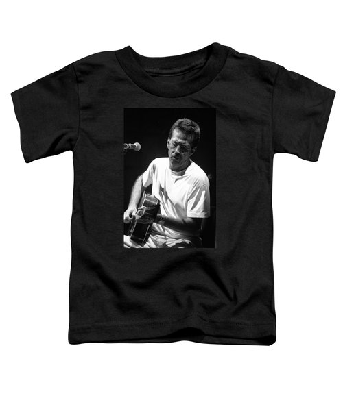 Eric Clapton 003 Toddler T-Shirt by Timothy Bischoff