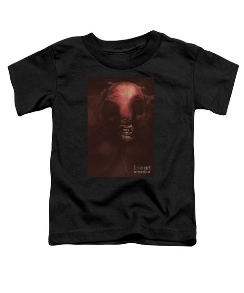 Evil Greek Mythology Minotaur Toddler T-Shirt by Jorgo Photography - Wall Art Gallery