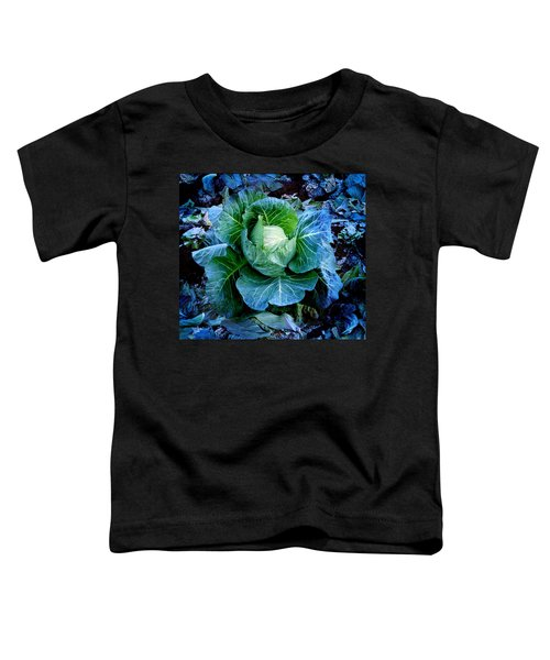 Flower Toddler T-Shirt by Julian Cook