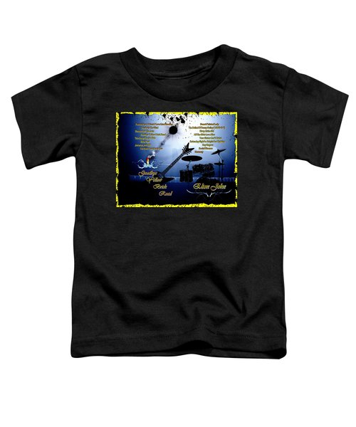 Goodbye Yellow Brick Road Toddler T-Shirt by Michael Damiani