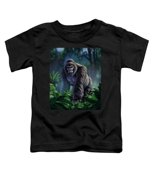 Guardian Toddler T-Shirt by Jerry LoFaro