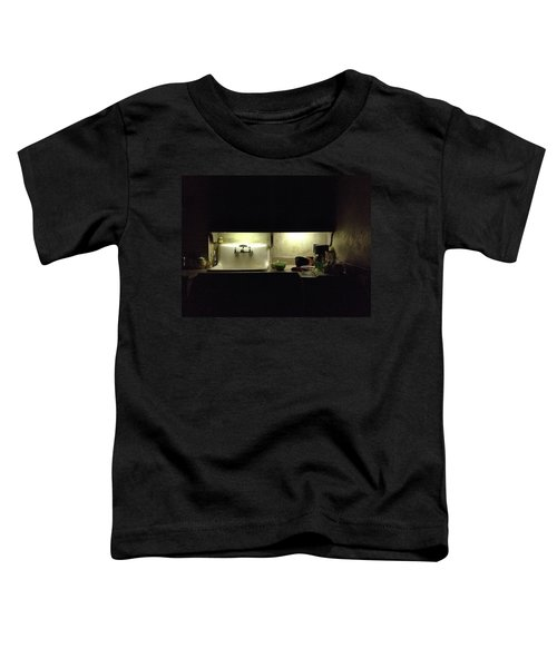 Harlem Sink Toddler T-Shirt by H James Hoff