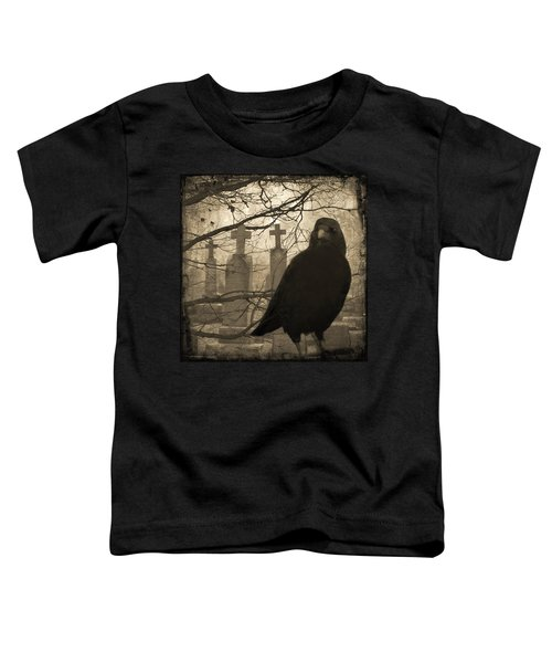 Her Graveyard Toddler T-Shirt by Gothicolors Donna