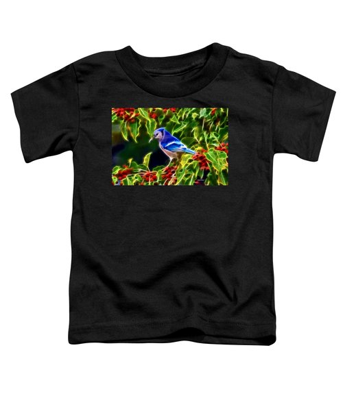 Hiding In The Berries Toddler T-Shirt by Stephen Younts