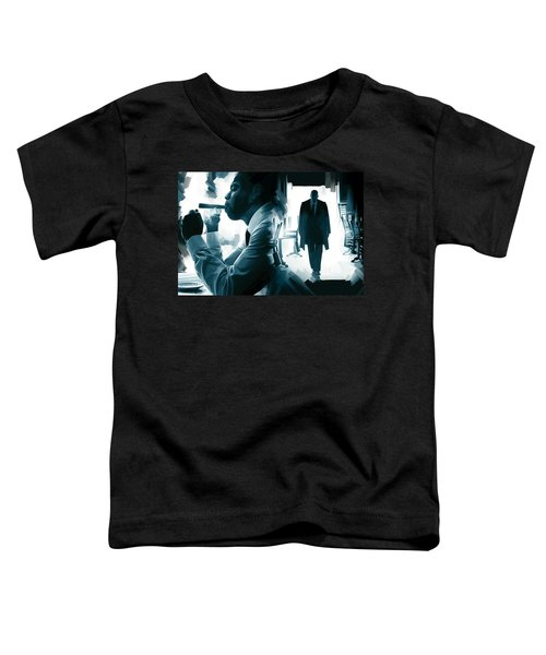 Jay-z Artwork 3 Toddler T-Shirt by Sheraz A