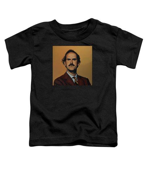 John Cleese Toddler T-Shirt by Paul Meijering