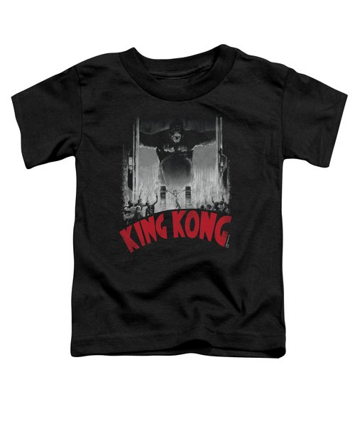 King Kong - At The Gates Poster Toddler T-Shirt by Brand A