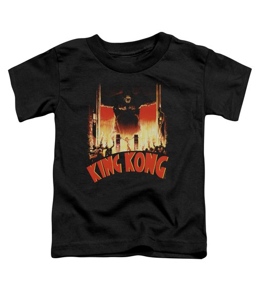 King Kong - At The Gates Toddler T-Shirt by Brand A