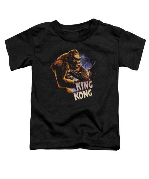 King Kong - Kong And Ann Toddler T-Shirt by Brand A