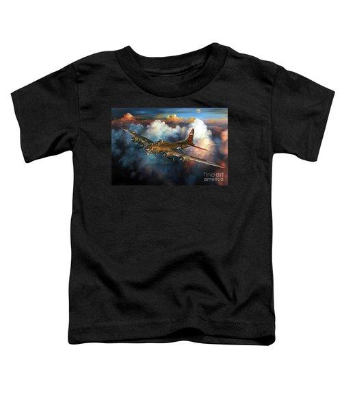 Last Flight For Nine-o-nine Toddler T-Shirt by Randy Green