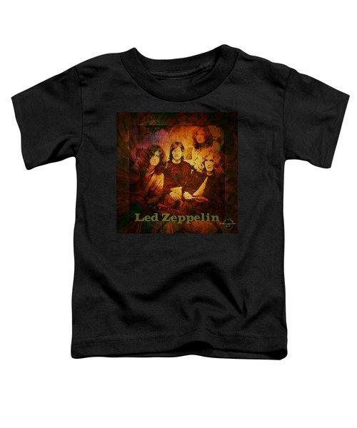 Led Zeppelin - Kashmir Toddler T-Shirt by Absinthe Art By Michelle LeAnn Scott