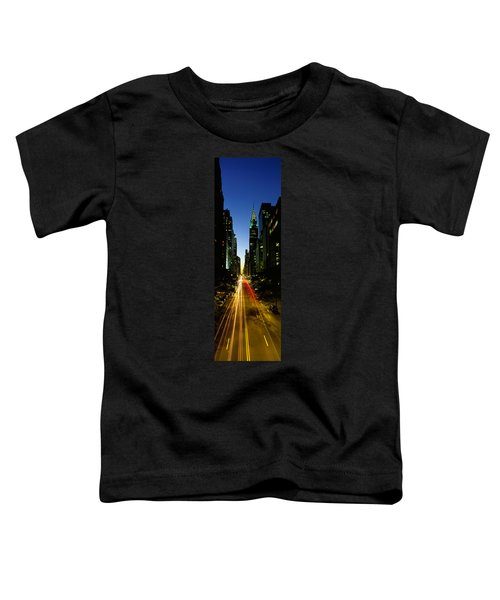 Lexington Avenue, Cityscape, Nyc, New Toddler T-Shirt by Panoramic Images