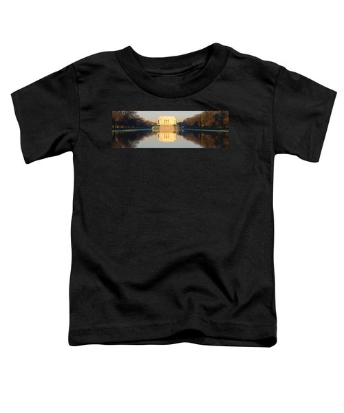 Lincoln Memorial & Reflecting Pool Toddler T-Shirt by Panoramic Images