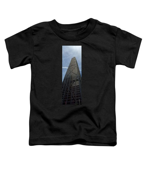 Low Angle View Of A Building, Hancock Toddler T-Shirt by Panoramic Images