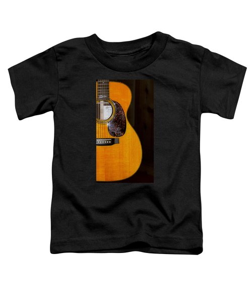 Martin Guitar  Toddler T-Shirt by Bill Cannon