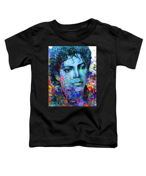 Michael Jackson 14 Toddler T-Shirt by Bekim Art
