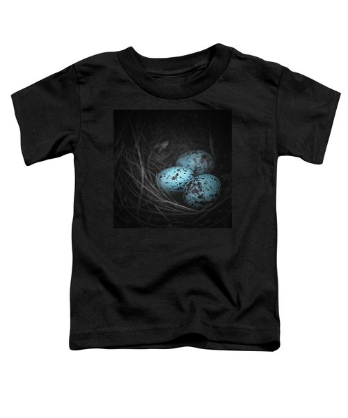 Nest Of 3  Toddler T-Shirt by Trish Mistric