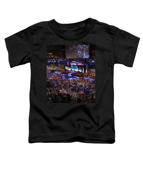 Obama And Biden At 2008 Convention Toddler T-Shirt by Stephen Farley