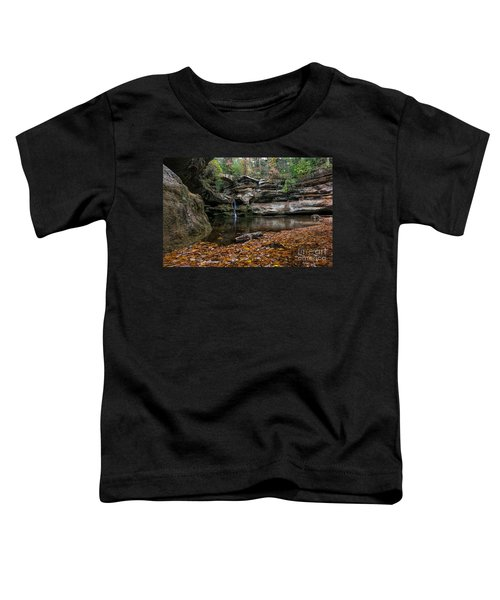 Old Mans Cave Toddler T-Shirt by James Dean