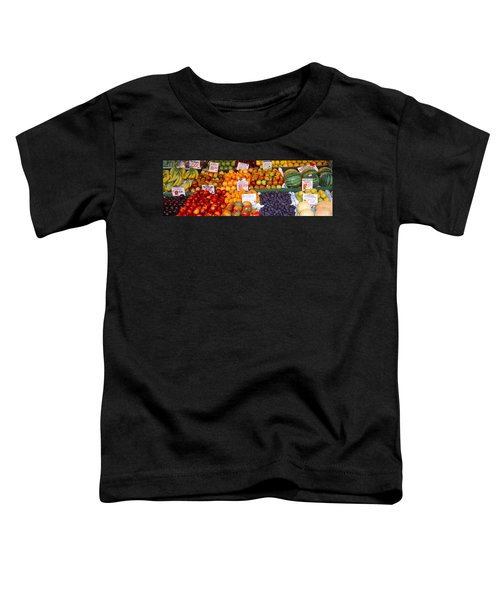 Pike Place Market Seattle Wa Usa Toddler T-Shirt by Panoramic Images