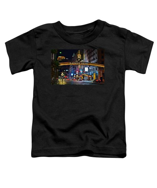 Playhouse Square Toddler T-Shirt by Frozen in Time Fine Art Photography