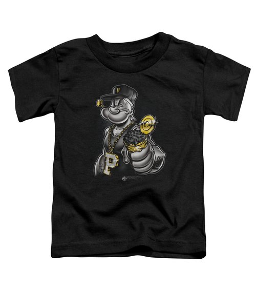 Popeye - Get More Spinach Toddler T-Shirt by Brand A