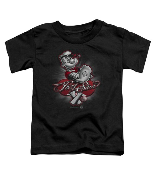 Popeye - Pong Star Toddler T-Shirt by Brand A