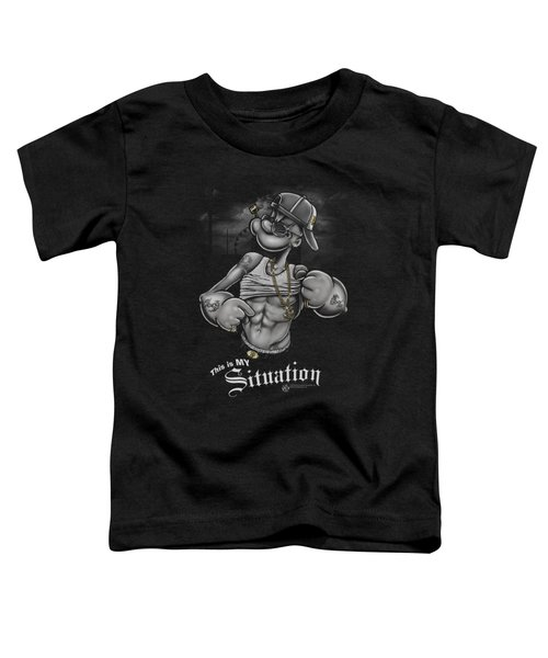 Popeye - Situation Toddler T-Shirt by Brand A