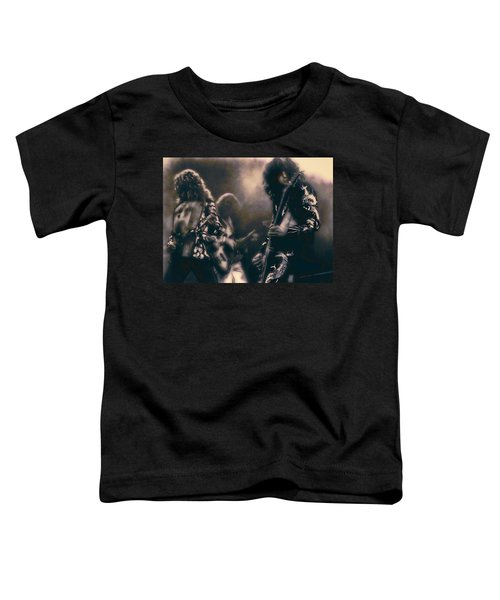 Raw Energy Of Led Zeppelin Toddler T-Shirt by Daniel Hagerman