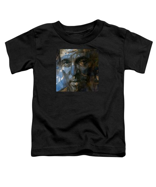 Shackled And Drawn Toddler T-Shirt by Paul Lovering