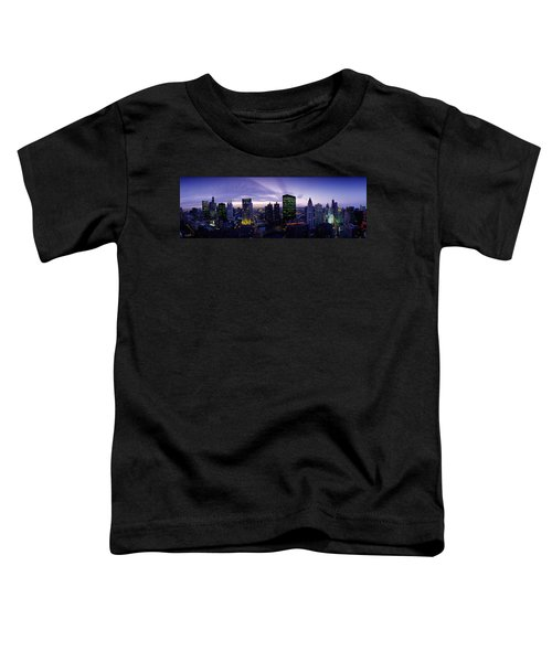 Skyscrapers, Chicago, Illinois, Usa Toddler T-Shirt by Panoramic Images